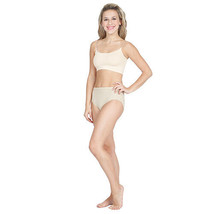 Capezio 3533 Women's XLarge (14-16) Nude Bra Liner w/ Clear Adjustable S... - $7.99