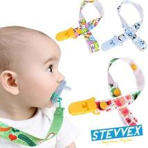 Children Pacifier Holder Clips Soother Holder Pacifier Clip Pacifier Cha... - $8.90