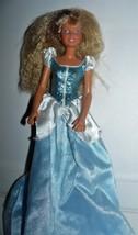 Hasbro 1987 Maxie Carly Doll in light blue satin dress - $10.34