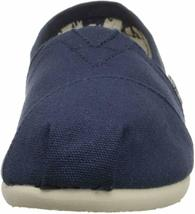 NEW Toms Women's The Venice Collection Classic Navy Canvas Slip On Flats Shoes image 3