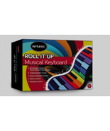 Riptunes ERK-4902 Roll It Up Musical Keyboard with 49 Colorful Keys, Green - $44.54