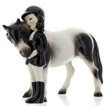 Hagen-Renaker Specialties Ceramic Horse Figurine Big Sister and her Pinto Pony image 2