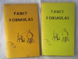 Self Printed Cookbooks Fancy Formulas Laboratory Staff McLaren Hospital ... - $14.84