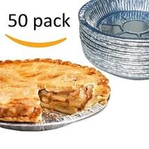 "Premium 9"" Aluminum Foil Pie Pans. Disposable Tin Plates for Pies Tart Q... - $21.06"