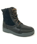 "Timberland Men's 6"" Raystown Black Leather Waterproof Snow Boots A1HRA - $129.99"