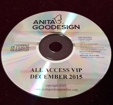 All Access December 2015 Anita Goodesign Embroidery Design CD ONLY $350.... - $23.75