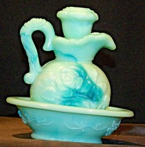 Wash Basin and Pitcher with Lid AA18-1062 Vintage Miniature AVON - $59.95