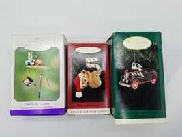 Hallmark Keepsake Ornaments - Lot of 3 Time in the Garden, 1937 Steelcra... - $4.94