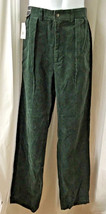 Polo Ralph Lauren Pants Andrew Corduroy Pleated Sz 32 Green New NWT Spin... - $36.83