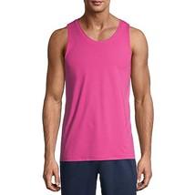 Men's Athletic Performance Sleeveless Tank Top Moisture Wicking (Pink, S... - $19.67