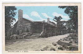 Lodge Frank Phillips FP Ranch Oklahoma postcard - $5.94