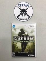 Call of Duty: Modern Warfare -- Reflex Edition (Nintendo Wii, 2009) - $9.36