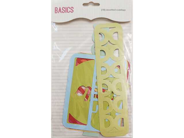 SEI Basics Die-Cut Overlays for Scrapbooks, Journals, Cards and More