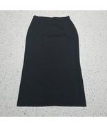 Casual Corner Women's Dressy Skirt ~ Sz 14 ~ Black ~ Long ~ Lined  - $24.74