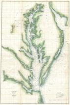 Chesapeake Bay; Antique Coastal Chart; USCS, 1859 - $26.72+