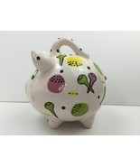 2001 Piggy Bank by Bette Abrams Diamond in the Rough Pottery Rare USA - $23.44