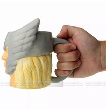 NEW Marvel Superhero Thor Molded Head 16oz Ceramic Coffee Cup Tea Mug - $12.00