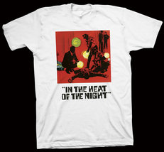 In the Heat of the Night T-Shirt Norman Jewison, Sidney Poitier, Rod Ste... - $14.99+