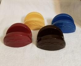 Longaberger Pottery Taco Holders  ( Set of 4 ) - $16.44