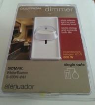 Lutron Skylark Slide Dimmer White S-600H-WH Incandescent/Halogen 120 V/6... - $2.96