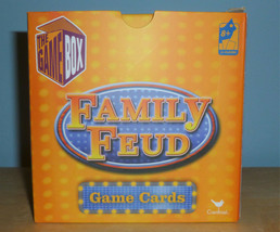 Family Fued Game Cards The Game Box By Cardinal 2015 - $14.85