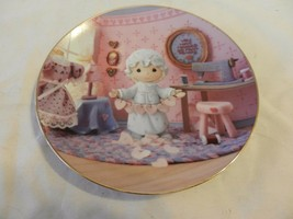 You Have Touched So Many Hearts Precious Moments Collector Plate Sam Butcher (H1 - $29.70