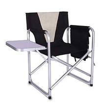 Camping Folding Director's Chair - Full Back Aluminum Lightweight Chair ... - $107.14