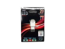 Brand new feit electric LED Bulb Sw Gy8.6 2.5watt 3000k soft white non-dimmable - $12.37