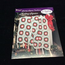 Holiday Squares Afghan The Needlecraft Shop Crochet Pattern Instructions 1994 - $5.69