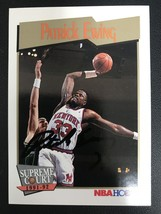 Patrick Ewing Signed Autographed 1992 Hoops Basketball Card - New York K... - $49.99