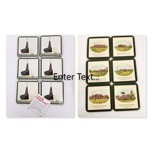 Pimpernel Coasters Golf Theme Lot 2 Box 6 Tee 6 Golf Clubs Cork Bottoms ... - $34.99