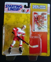 1994 Starting Lineup Sergei Fedorov Detroit Red Wings Kenner Hockey NHL Figure - $4.00