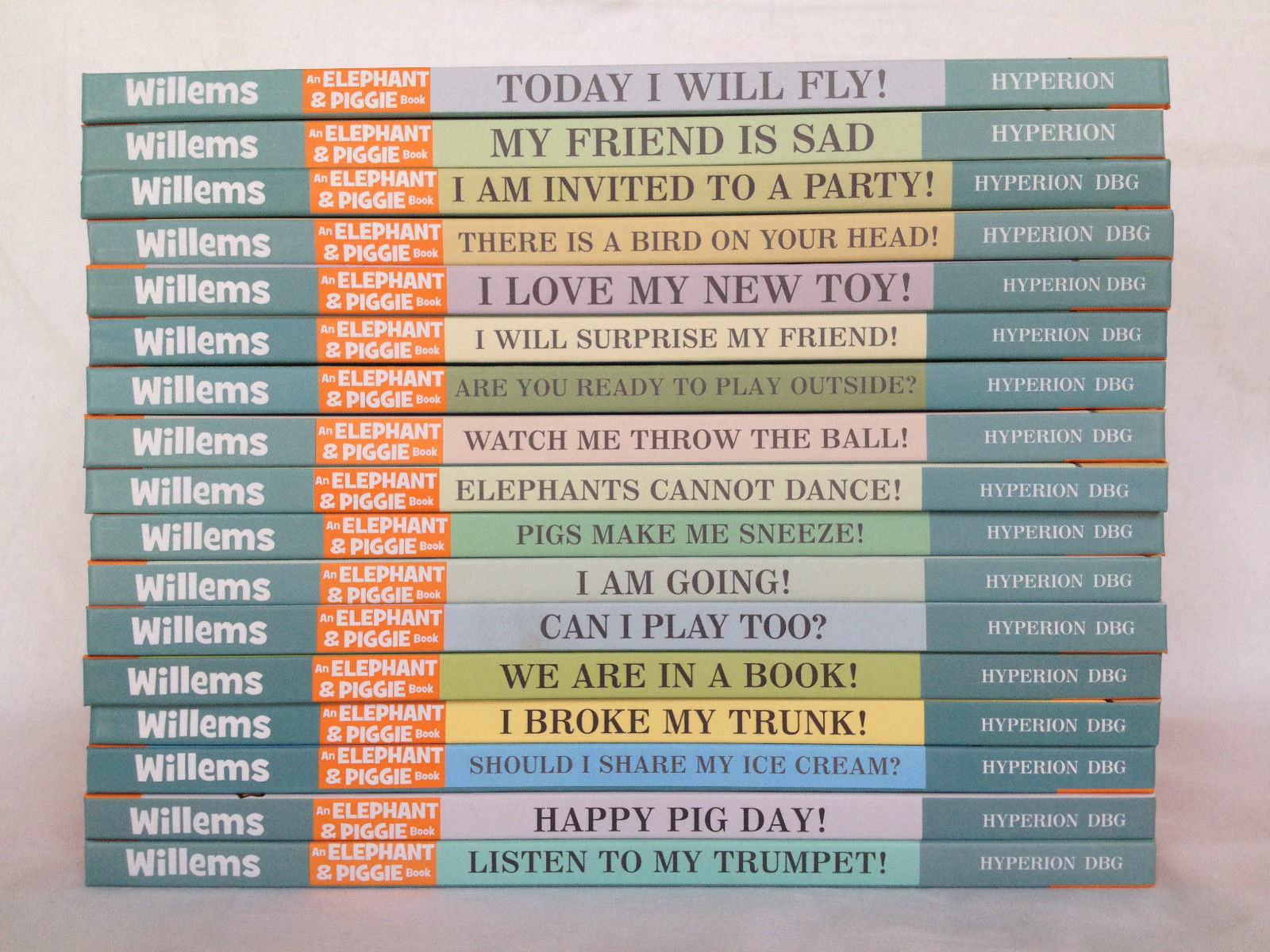 A 21 Book Set Mo Willems Elephant and Piggie Series 21 Brand New Hardcover Books