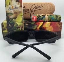 Polarized MAUI JIM Sunglasses POHAKU MJ 528-2M Matte Black Frames w/Neutral Grey - $259.95