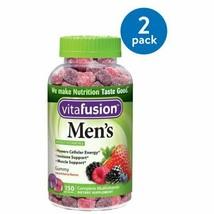 (2 Pack) Vitafusion Men's Gummy Vitamins, 150ct - $34.50