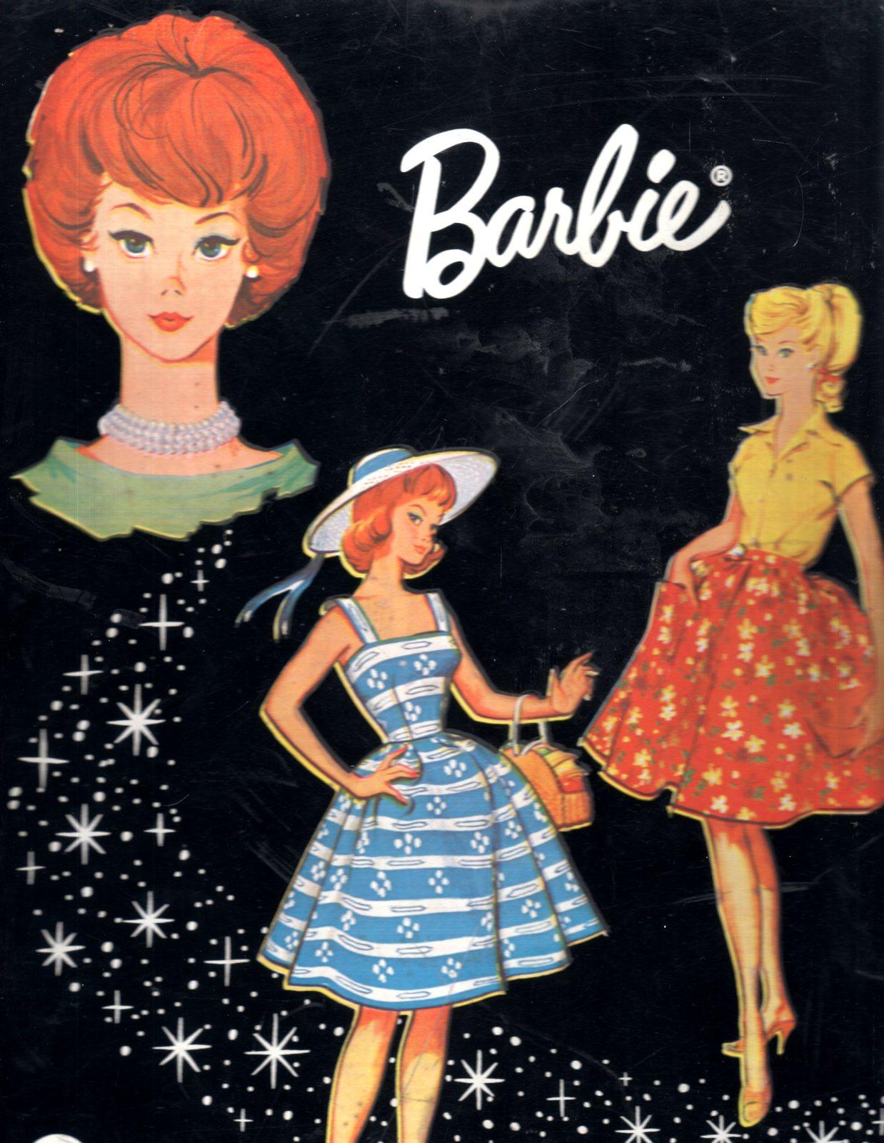 Barbie Doll Travel Case - Vintage Mattel 1964