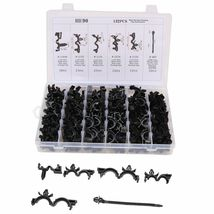 """Fit GM 132 Pcs Automotive Wire Harness Routing Clip Assortment 3/8"""" To 3/4"""" Loom - $23.40"""