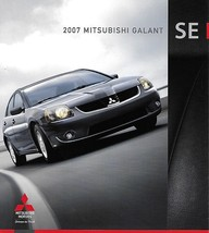 2007 Mitsubishi GALANT SE sales brochure catalog folder US 07 - $8.00