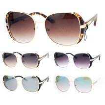 SA106 Womens Mob Rectangular Oversize Butterfly Sunglasses - $12.95