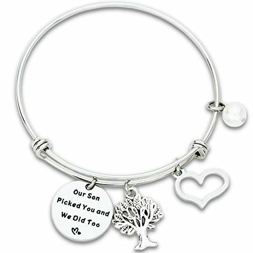 Daughter in Law Bracelet Jewelry Our Son Picked You and We Did Too Bracelet