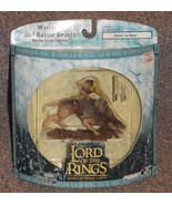 Lord Of The Rings Armies Of Middle Earth Sharku On Warg New In The Package - $24.99
