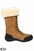 UGG ADIRONDACK II OTTER eVENT WATERPROOF SHEEPSKIN TALL BOOTS SIZE US 6 NEW - $234.99
