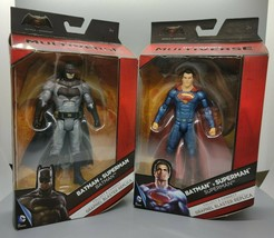 "Batman v Superman: Dawn of Justice Multiverse 6"" Superman and Batman Fig... - $31.95"