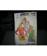 Butterick 6955 Misses V-Neck Blouse Pattern - Size 16 Bust 38 - $7.91