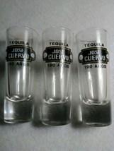 """Three Jose Cuervo Tequila 4"""" Tall Shot Glasses - $9.16"""