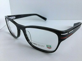 New TAG Heuer TH 0533 003 52mm Gray Men's Eyeglasses Frame - $164.99