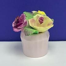 Royal Adderley porcelain flower staffordshire bouquet pot figurine sculp... - $34.60