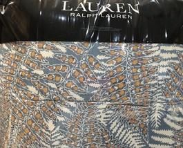 RALPH LAUREN HADLEY FERN 3pc F/QUEEN COMFORTER SET BLUE MUL Bnip $350 BE... - $163.93