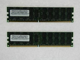 8GB (2X4GB) DDR2 MEMORY RAM PC2-5300 ECC REG DIMM