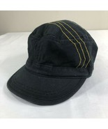 Mountain Hardwear Hat Black Cadet Cap Women M/L Casual Baseball Floppy Ski - $14.99
